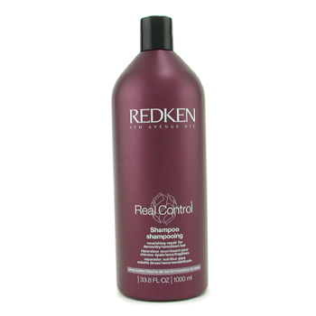 buy Redken Real Control Nourishing Repair Shampoo (For Dense/ Dry/ Sensitized Hair) 1000ml/33oz by Redken skin care shop