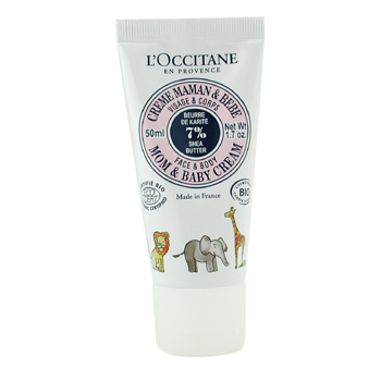 LOccitane Shea Butter Mom Baby Cream