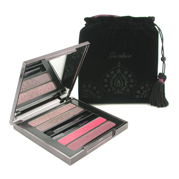 Guerlain Guerlain Volga Princess Eyes and Lip Palette: 2x Lipstck + 2x Eyeshadow -