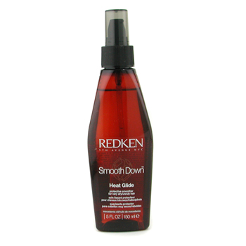 buy Redken Smooth Down Heat Glide Protective Smoother (For Very Dry/ Unruly Hair) 150ml/5oz by Redken skin care shop
