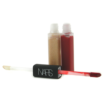 NARS Gloss Labial/ Color Satinado Duo - # Moon Fleet/ Indian Red