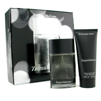 Ermenegildo Zegna Zegna Intenso Coffret: Eau De Toilette Spray 50ml + After Shave Balm 100ml 2pcs