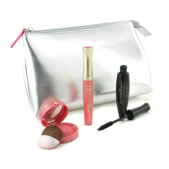 Bourjois Dallas Cowboys Cheerleaders Set: Pump Up The Volume Mascara + Effet 3D Lipgloss + Blush + Bag 3pcs+1bag