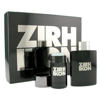 Zirh International Ikon Estuche: Agua de ColoniaVaporizador 125ml + Desodorante Stick 75g