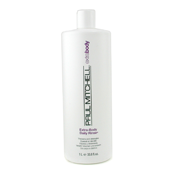 buy Paul Mitchell Extra-Body Daily Rinse (Thickens and Detangles) 1000ml/33.8oz by Paul Mitchell skin care shop