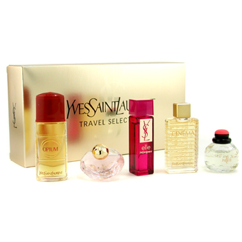 Yves Saint Laurent Travel Selection Estuche : Opium, Baby Doll, Paris, Elle, Cinema