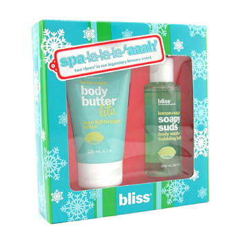 Bliss Spa-la-la-la-'aaah' Set: Mantequilla Corporal 125ml + Exfoliante 100ml