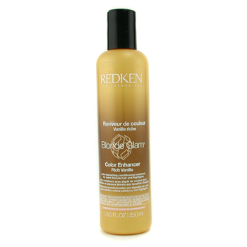 Redken Blonde Glam Color Enhancer - Rich Vanilla - Tratamiento Mejorador Color ( Cabellos Rubios y C