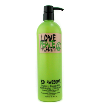 Tigi Love, Peace & The Planet Eco Awesome Cranberry Orange Mint Acondicionador Hidratante