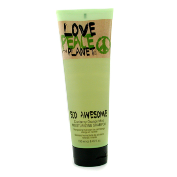 Tigi Love, Peace & The Planet Eco Awesome Cranberry Orange Mint Champú Hidratante