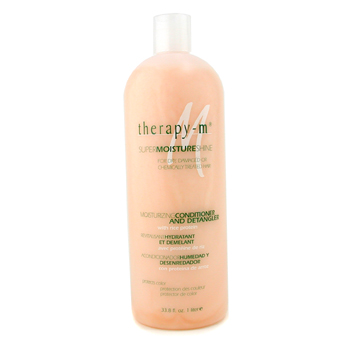 buy Therapy-g SuperMoistureShine Moisturizing Conditioner and Detangler (For Dry  Damaged or Chemically Treated Hair) 1000ml/33.8oz by Therapy-g skin care shop