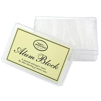 buy The Art Of Shaving Alum Block Natural Antiseptic Stone (For After Shaving & Minor Cuts) -  skin care shop