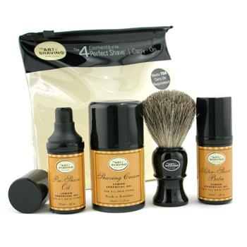 buy The Art Of Shaving Carry On Kit - Lemon (For All Skin Types) 4pcs+1bag  skin care shop