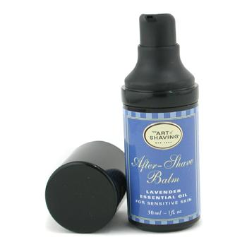 The Art Of Shaving After Shave Balm - Lavender Essential Oil (Travel Size  Pump  For Sensitive Skin 30ml/1oz