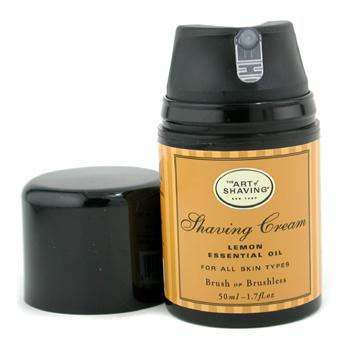 buy The Art Of Shaving Shaving Cream - Lemon Essential Oil (Travel Size  Pump  For All Skin Types) 50ml/1.7oz  skin care shop
