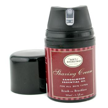 buy The Art Of Shaving Shaving Cream - Sandalwood Essential Oil (Travel Size  Pump  For All Skin Types) 50ml/1.7oz  skin care shop