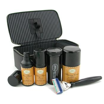 buy The Art Of Shaving Travel Kit (Lemon): Razor+ Shaving Brush+ Pre-Shave Oil 30ml+ Shaving Cream 50ml+ A/S Balm 30ml+ Case 5pcs+1case  skin care shop