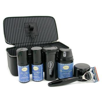 The Art Of Shaving Set de Viaje ( Lavanda ): Maquinilla + 4 Cuchillas + Aceite Pre-Afeitado + Crema