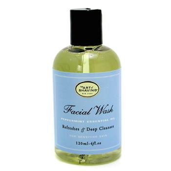 Facial Wash - Peppermint Essential Oil - For Sensitive Skin
