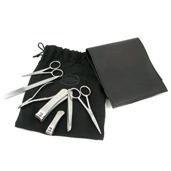 Manicure Set: Nail File, Nose Hair Sissors, Cuticle Nippe, Moustache Sissor, Nail Clipper, Toe Nail Clipper, Tweezer