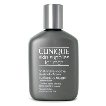 Para a pele do homem, Clinique, Clinique Skin Supplies For Men: Post Shave Soother Beard Control Formula 75ml/2.5oz