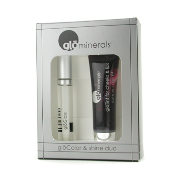 GloMinerals GloColor & Shine Duo: 1x GloTint for Mejillas & Labios, 1x GloGloss Labial - # Shine