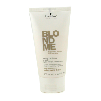 Cuidados com o cabelo, Schwarzkopf, Schwarzkopf Blondme Shine Moisture Mask ( For Blonde Hair ) 150ml/5.7oz