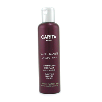 buy Carita Haute Beaute Cheveu Purifying Shampoo Icy Gel (For Oily to Combination Hair) 200ml/6.7oz by Carita skin care shop