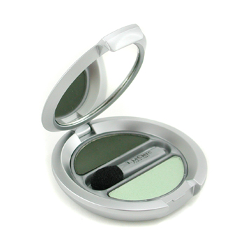 buy T. LeClerc Powder Eye Shadow Matte & Iridescent Duo - # 24 Vert Amande (New Packaging) 2.4g/0.08oz by T. LeClerc skin care shop