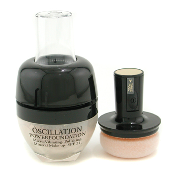 Lancome Oscillation Polvos Base Maquillaje Micro Vibrating Mineral Maquillaje SPF 21 - # Ivory 30
