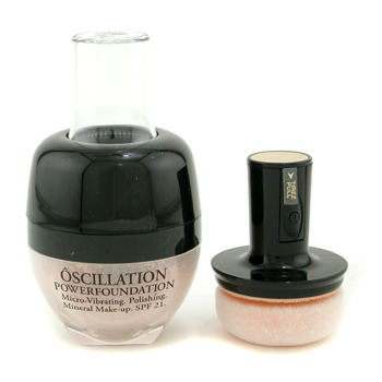 Lancome Oscillation Polvos Base Maquillaje Micro Vibrating Mineral Maquillaje SPF 21 - # Beige 20
