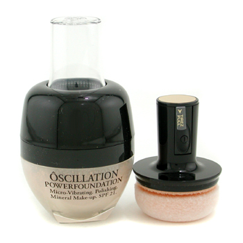 10220280902 Lancome Oscillation Powder Foundation Micro Vibrating Mineral MakeUp SPF 21   # Honey 10 8g/0.28oz