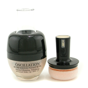 Lancome Oscillation Polvos Base Maquillaje Micro Vibrating Mineral Maquillaje SPF 21 - # Honey 20
