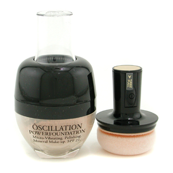 Lancome Oscillation Polvos Base Maquillaje Micro Vibrating Mineral Maquillaje SPF 21 - # Honey 25