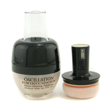 Maquiagens, Lancome, Lancome Oscillation Powder Foundation Micro Vibrating Mineral maquiagem SPF 21 - # Beige 30 8g/0.28oz