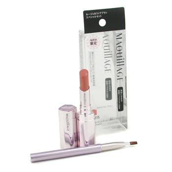 Shiseido Maquillage Rouge & Pincel Labial Special Set - # BE315 17024