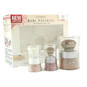 L'Oreal Bare Naturale The Flawless Starter Set - No. 460 Nude Beige Collection