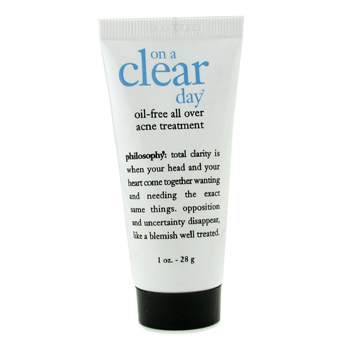 Philosophy On a Clear Day Oil Free All Over Tratamiento Acné