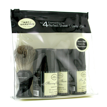 The Art Of Shaving Carry On Kit - Inoloro ( Piel Sensible)