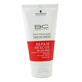 buy Schwarzkopf BC Repair Rescue Sealed Ends Treatment (For Damaged Ends) 75ml/2.5oz by Schwarzkopf skin care shop