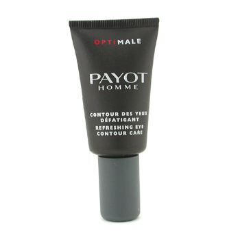 Para a pele do homem, Payot, Payot Optimale Homme Refreshing Eye Contour Care ( Unboxed  Tester ) 15ml/0.5oz