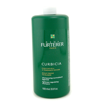 Rene Furterer Curbicia Lightness Regulating Champú regulador ligero (Cuero cabelludo graso )