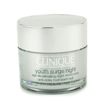 Clinique Youth Surge Night Age Decelerating Night Moisturizer - Hidratante Noche - Piel Mixta y Gras