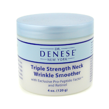 Dr. Denese Triple Strength Neck Wrinkle Smoother with Exclusive Pro-Peptide Factor & Retinol - Forta