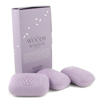 buy Wood Of Windsor Lavender Fine English Soap 3x100g/3.5oz  skin care shop