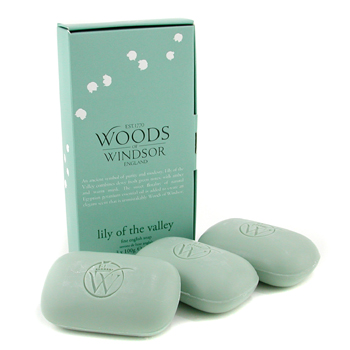 buy Wood Of Windsor Lily Of The Valley Fine English Soap 3x100g/3.5oz  skin care shop