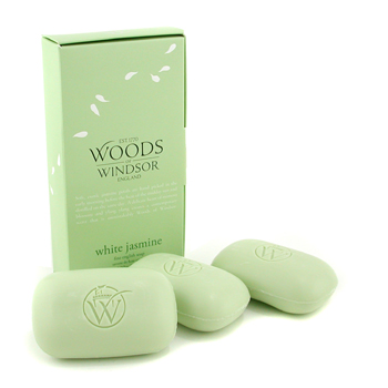 buy Wood Of Windsor White Jasmine Fine English Soap 3x100g/3.5oz  skin care shop