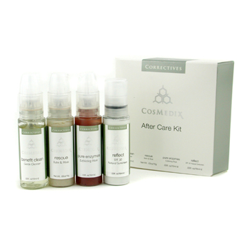 CosMedix After Care Kit: Benefit 10ml/0.3oz + Rescue 10g/0.3oz + Pure Enzymes 10ml/0.3oz + Reflet 10