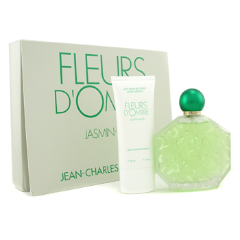 buy Jean-Charles Brosseau Fleurs D'Ombre Jasmin Coffret: Eau De Toilette Spray 100ml/3.4oz + Body Lotion 50ml/1.7oz 2pcs  skin care shop