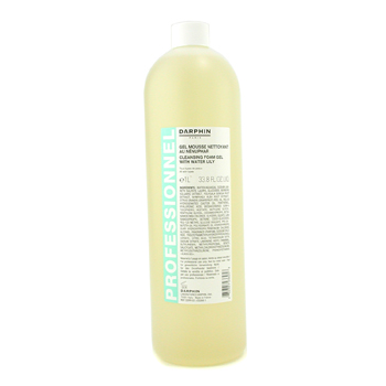 buy Darphin Cleansing Foam Gel with Water Lily (Salon Size) 1000ml/33.8oz skin care shop